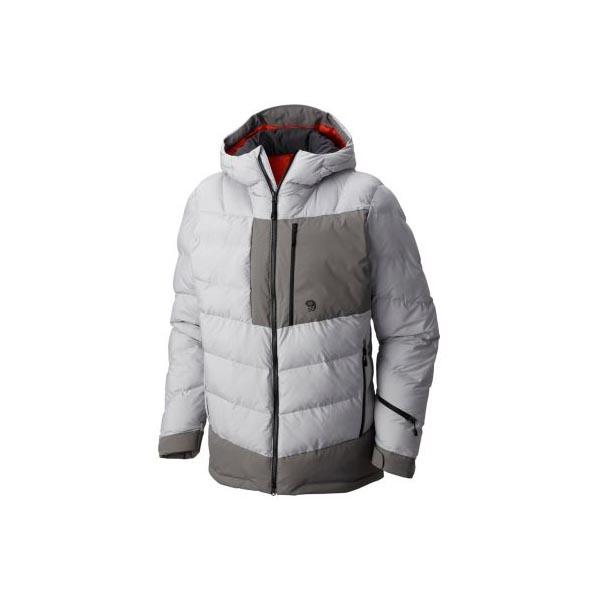 Men Mountain Hardwear Therminator™ Insulated Parka Grey Ice, Manta Grey Outlet Online