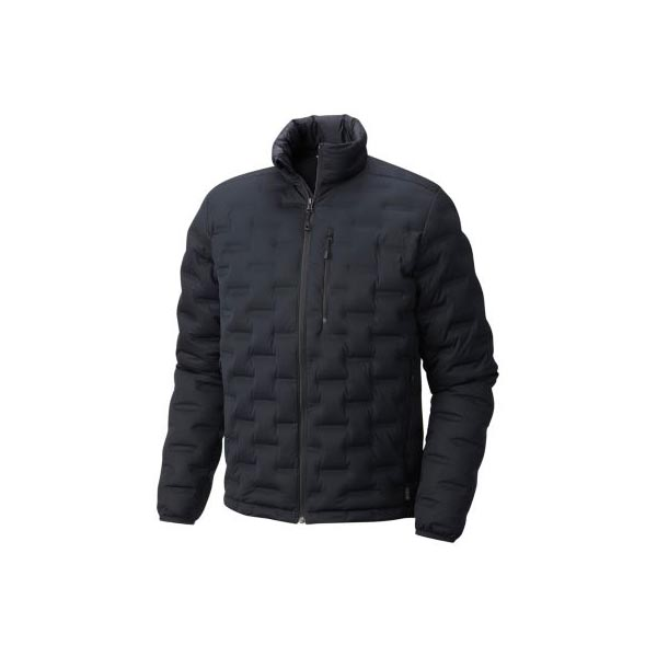 Men Mountain Hardwear StretchDown™ DS Jacket Black Outlet Online