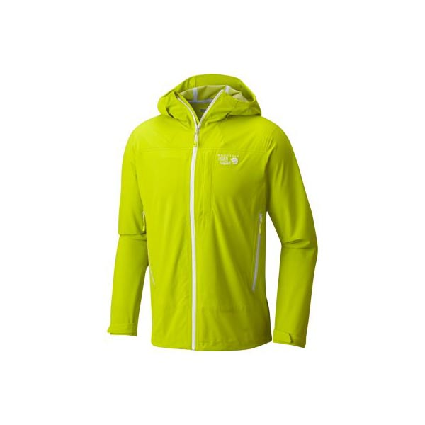 Men Mountain Hardwear Stretch Ozonic™ Jacket Fresh Bud Outlet Online