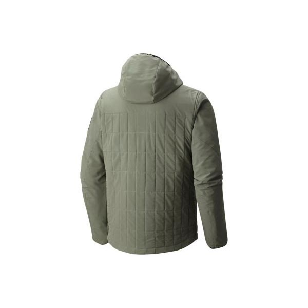 Men Mountain Hardwear Schematic™ Hooded Jacket Green Fade Outlet Online