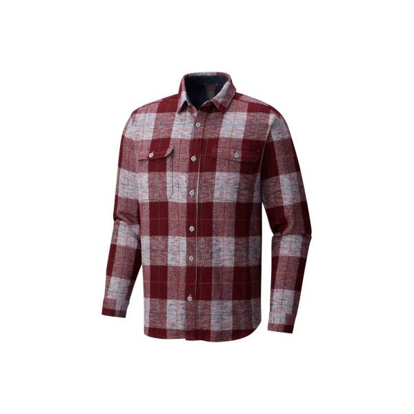 Men Mountain Hardwear Walcott™ Long Sleeve Shirt Cote Du Rhone Outlet Online