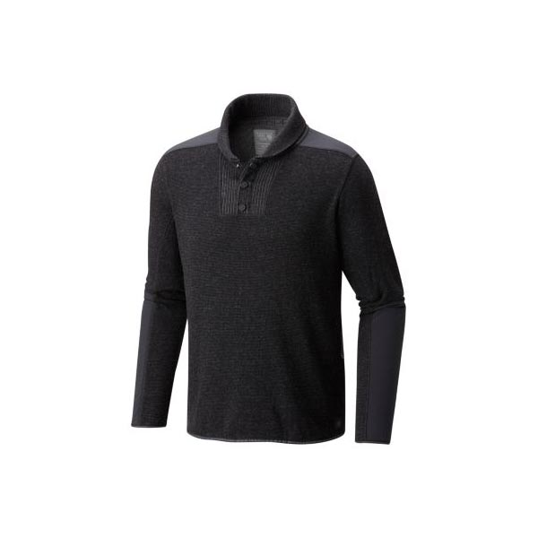 Men Mountain Hardwear Mtn Tactical™ Pullover Sweater Black Outlet Online