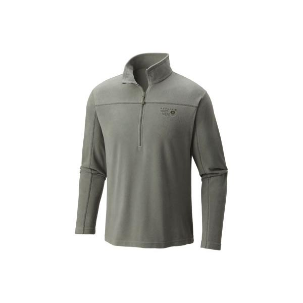 Men Mountain Hardwear MicroChill™ Lite Zip T Green Fade Outlet Online