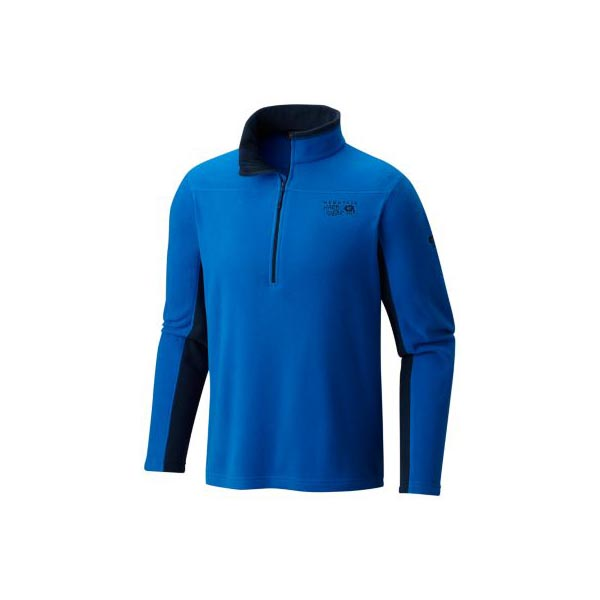 Men Mountain Hardwear Microchill™ 2.0 Zip T Altitude Blue Outlet Online