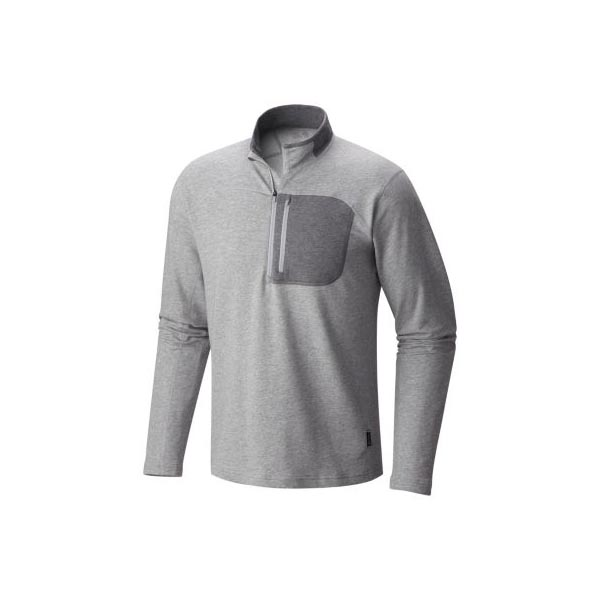 Men Mountain Hardwear Cragger™ 1/2 Zip Heather Steam Outlet Online