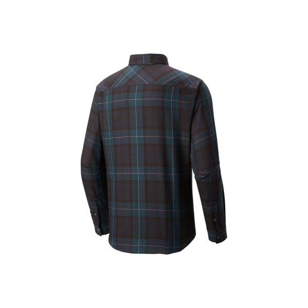 Men Mountain Hardwear Franklin™ Long Sleeve Shirt Shark Outlet Online