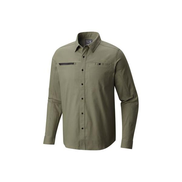 Men Mountain Hardwear Hardwear AP™ Shirt Green Fade Outlet Online