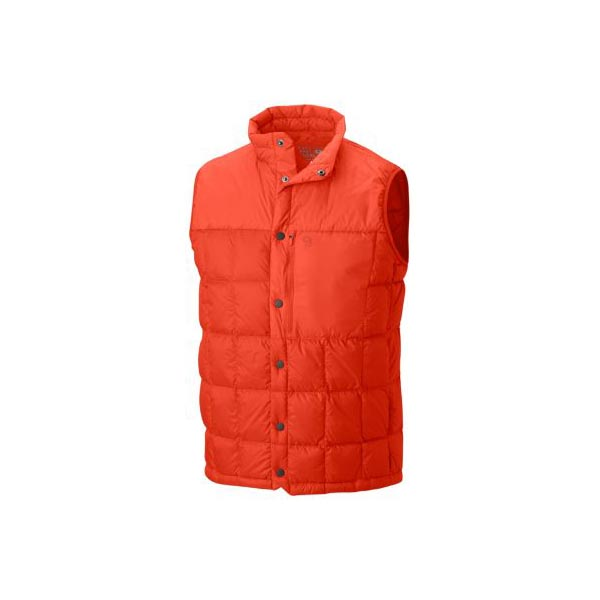 Men Mountain Hardwear PackDown™ Vest State Orange Outlet Online