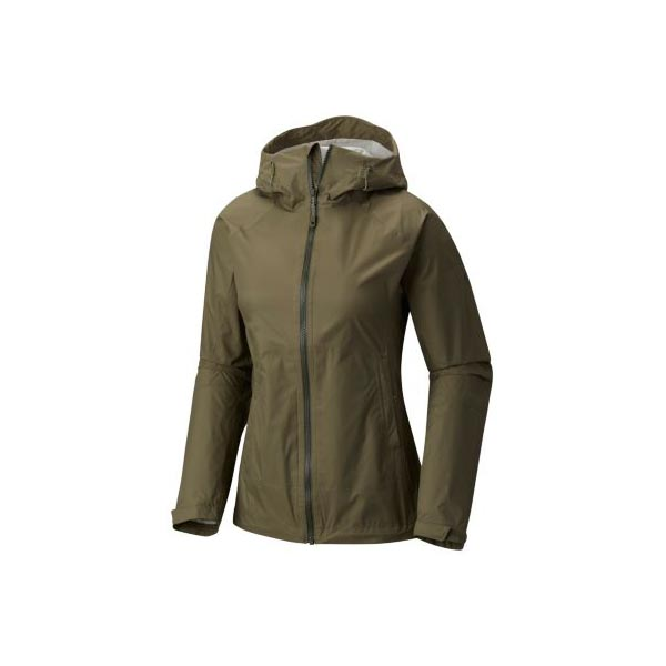 Women Mountain Hardwear Exponent™ Jacket Stone Green Outlet Online