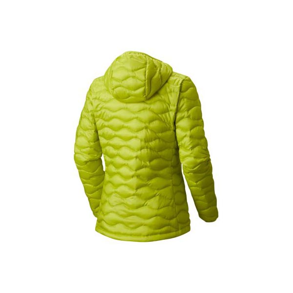 Women Mountain Hardwear Nitrous™ Hooded Down Jacket Fresh Bud Outlet Online