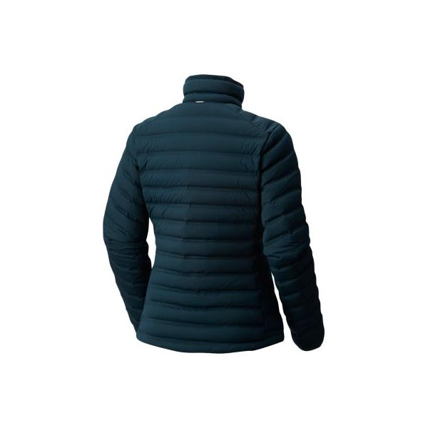 Women Mountain Hardwear StretchDown™ Jacket Blue Spruce Outlet Online