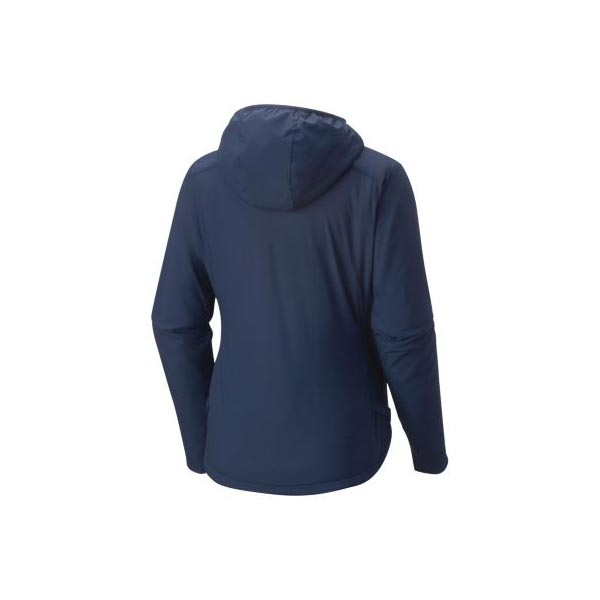 Women Mountain Hardwear Skypoint™ Hooded Jacket Zinc Outlet Online