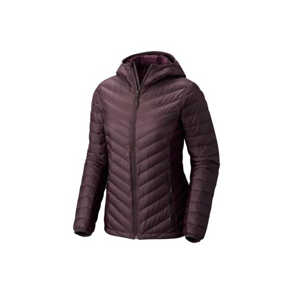Women Mountain Hardwear Micro Ratio™ Hooded Down Jacket Purple Sage, Dark Tannin Outlet Online