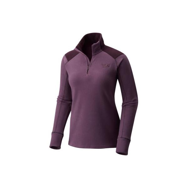 Women Mountain Hardwear Microchill™ 2.0 Zip T Dusty Purple Outlet Online