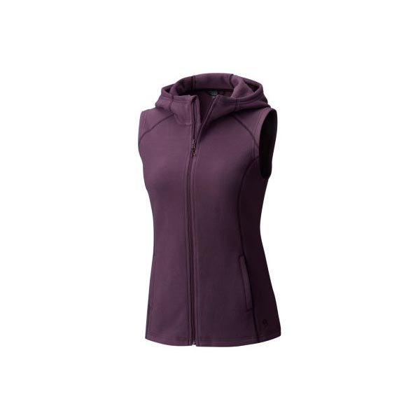 Women Mountain Hardwear MicroChill™ Hooded Vest Dusty Purple Outlet Online