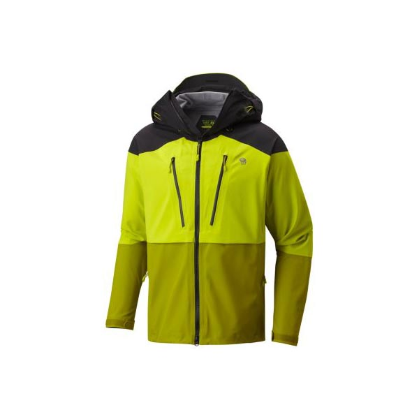Mountain Hardwear Men Cyclone™ Jacket Fresh Bud, Python Green On Sale