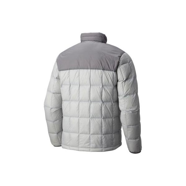 Mountain Hardwear Men PackDown™ Jacket Grey Ice, Manta Grey On Sale