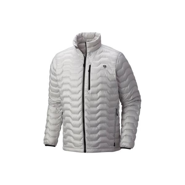 Mountain Hardwear Nitrous™ Down Jacket Men Grey Ice Outlet Store