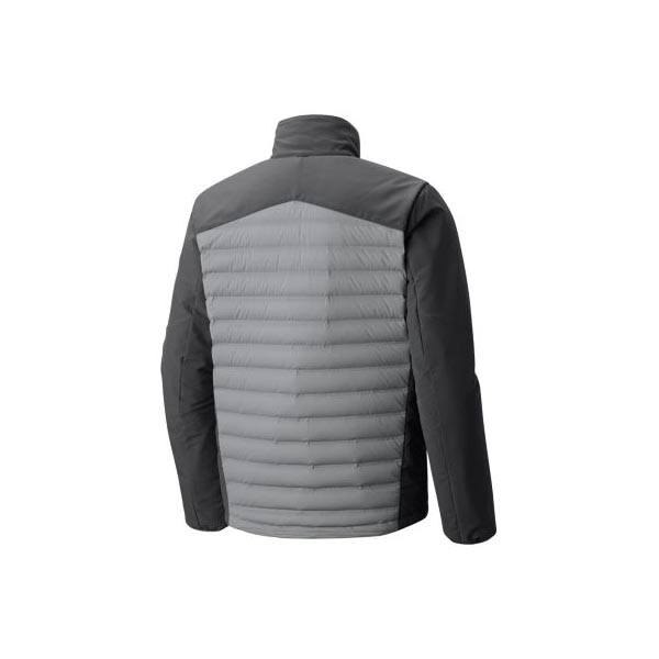 Cheap Mountain Hardwear Men Manta Grey, Shark StretchDown™ HD Jacket Online