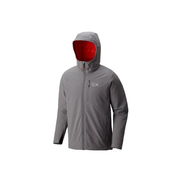 Mountain Hardwear Superconductor™ Hooded Jacket Men Manta Grey Outlet Store