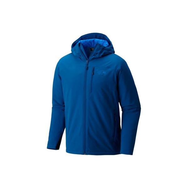 Mountain Hardwear Superconductor™ Hooded Jacket Men Nightfall Blue Outlet Store