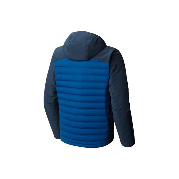 Mountain Hardwear StretchDown™ HD Hooded Jacket Men Nightfall Blue, Hardwear Navy Outlet Store