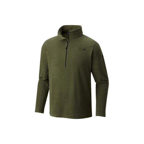 Mountain Hardwear Men Microchill™ 2.0 Zip T Surplus Green On Sale