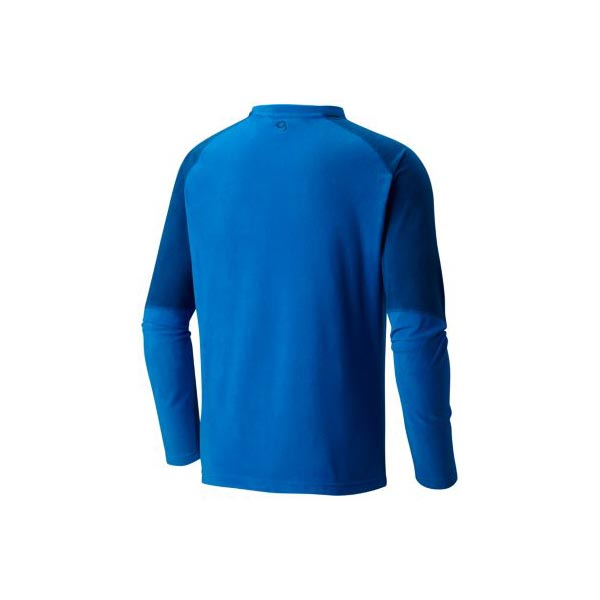 Mountain Hardwear Microchill™ Lite Long Sleeve Crew Men Altitude Blue Outlet Store