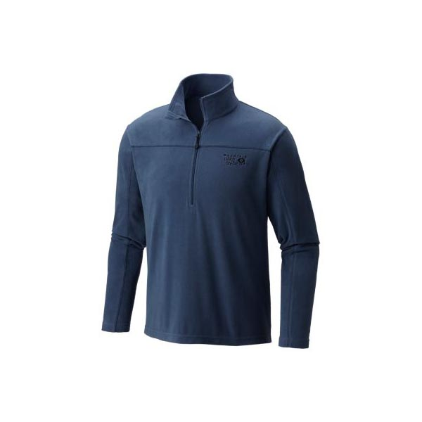 Mountain Hardwear Men MicroChill™ Lite Zip T Zinc On Sale