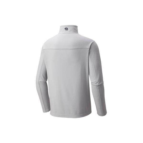 Cheap Mountain Hardwear Men Grey Ice MicroChill™ Lite Zip T Online