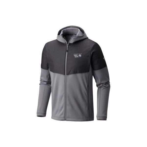 Mountain Hardwear Men 32 Degree™ Insulated Hooded Jacket Manta Grey On Sale