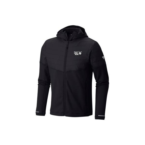 Mountain Hardwear Men 32 Degree™ Insulated Hooded Jacket Black On Sale