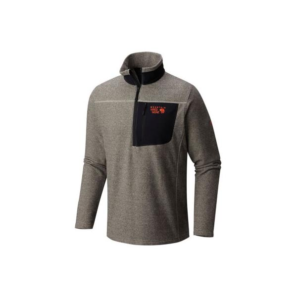 Mountain Hardwear Toasty Twill™ Fleece 1/2 Zip Men Sandblast Outlet Store
