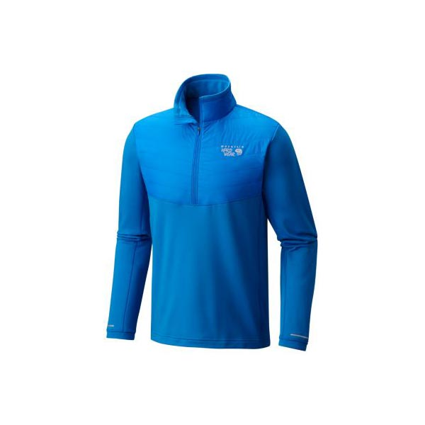 Mountain Hardwear Men 32 Degree™ Insulated 1/2 Zip Altitude Blue On Sale