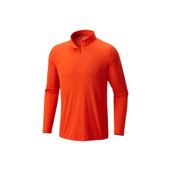 Cheap Mountain Hardwear Men State Orange Photon™ Zip T Online