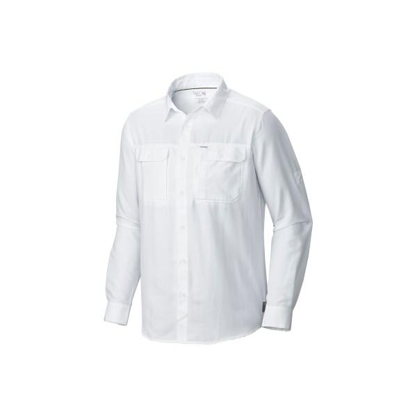 Mountain Hardwear Men Canyon™ Long Sleeve Shirt White On Sale