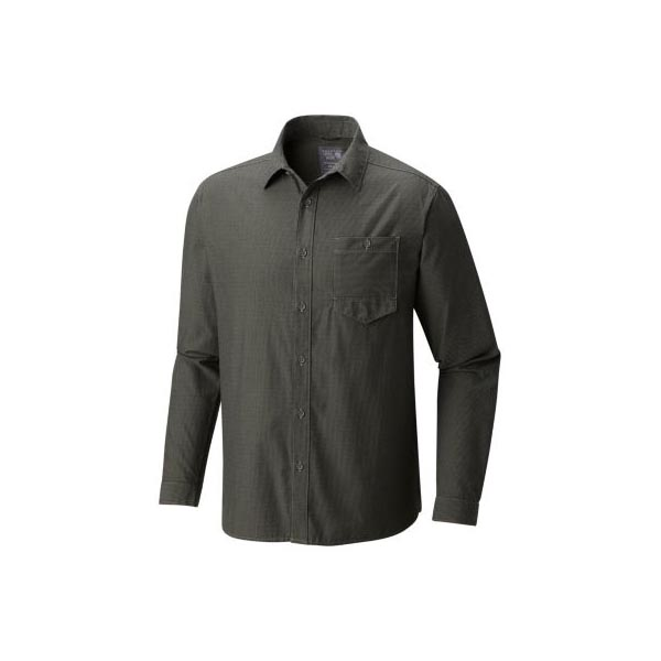 Mountain Hardwear Foreman™ Long Sleeve Shirt Men Green Fade Outlet Store