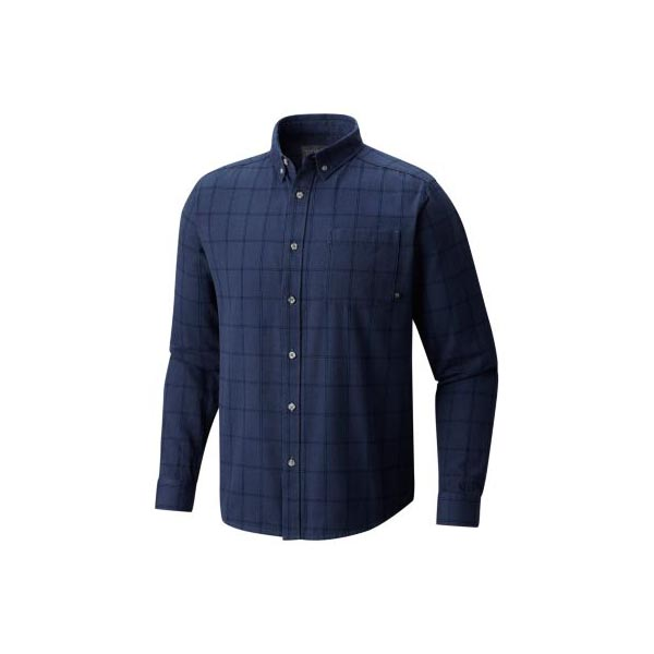 Mountain Hardwear Men Ashby™ Long Sleeve Shirt Zinc On Sale