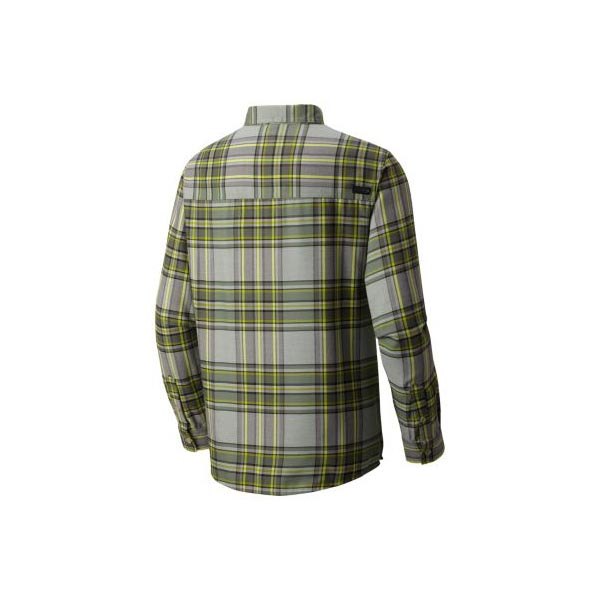 Mountain Hardwear Trekkin™ Flannel Long Sleeve Shirt Men Green Fade Outlet Store