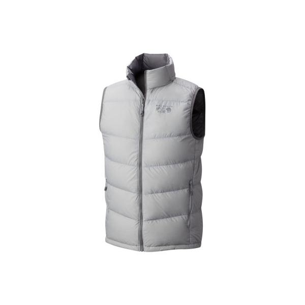 Mountain Hardwear Ratio™ Down Vest Men Grey Ice Outlet Store
