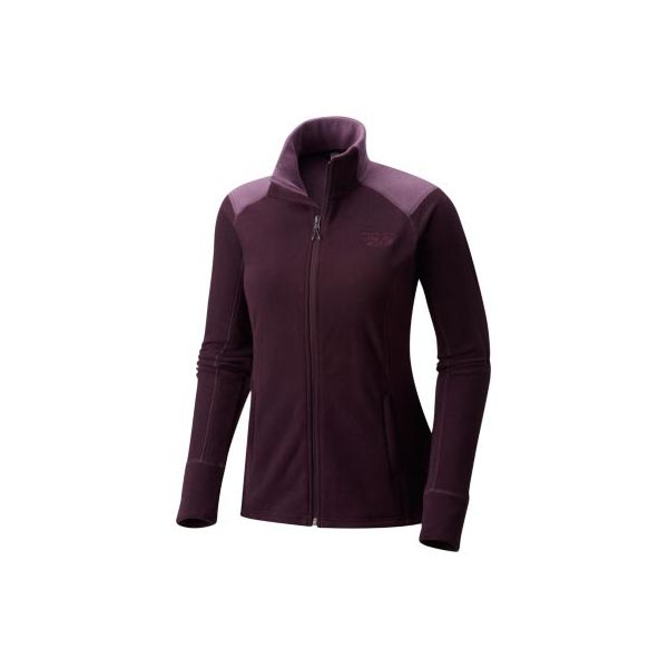 Women Mountain Hardwear Microchill™ 2.0 Jacket Dark Tannin Outlet Online