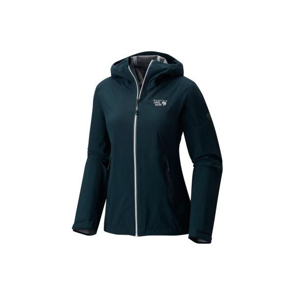 Women Mountain Hardwear Stretch Ozonic™ Jacket Blue Spruce Outlet Online