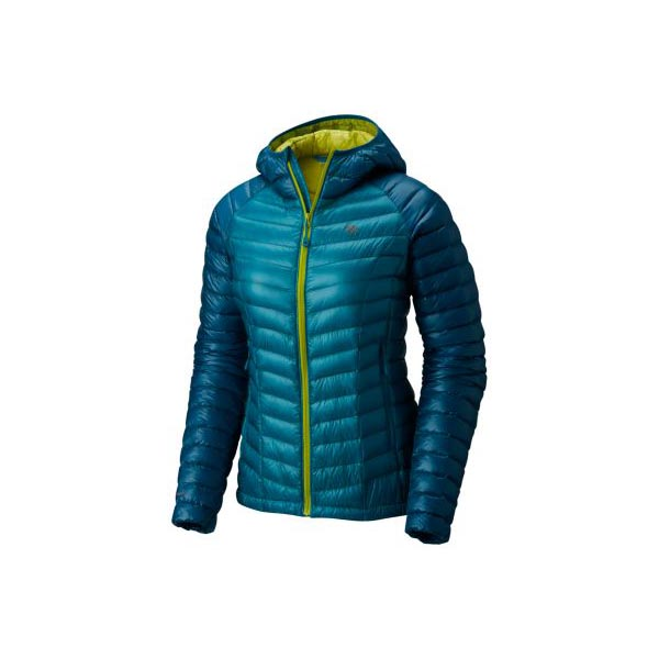 Mountain Hardwear Women Ghost Whisperer™ Down Hooded Jacket Sea Level, Dark River On Sale