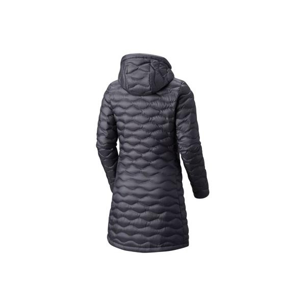 Mountain Hardwear Women Nitrous™ Hooded Down Parka Graphite On Sale