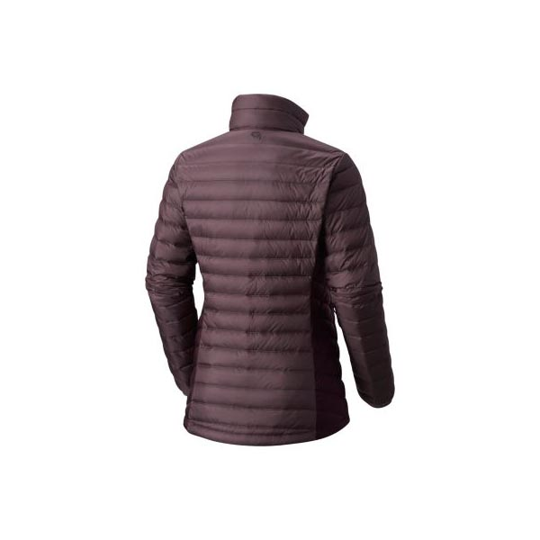 Mountain Hardwear Women Micro Ratio™ Down Jacket Purple Sage, Dark Tannin On Sale