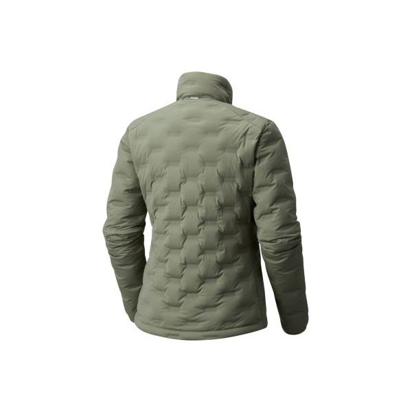 Women Mountain Hardwear StretchDown™ DS Jacket Green Fade Outlet Online