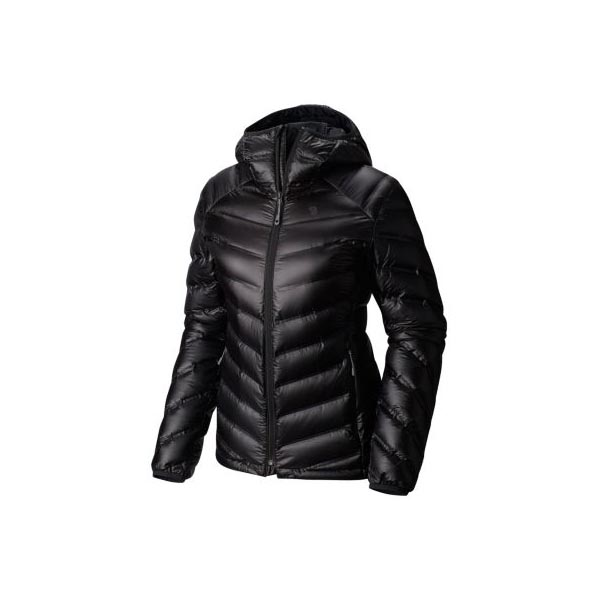 Mountain Hardwear Women StretchDown™ RS Hooded Jacket Black On Sale