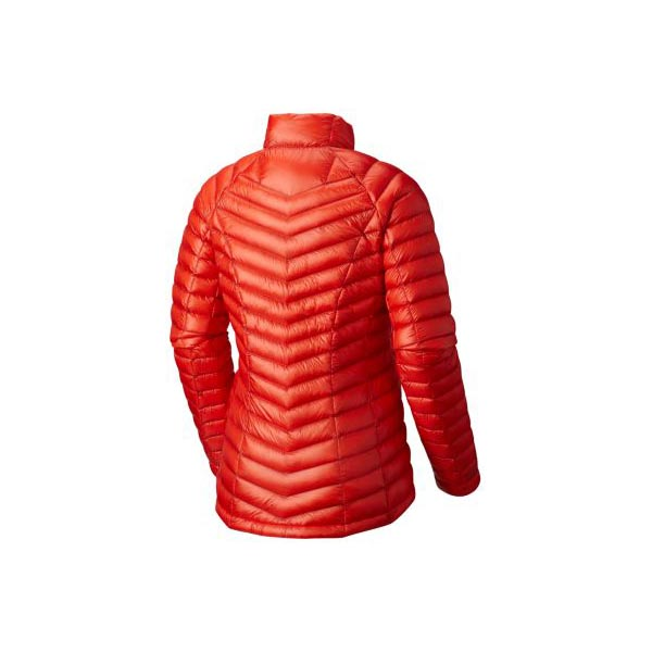 Mountain Hardwear Ghost Whisperer™ Down Jacket Women Fiery Red Outlet Store