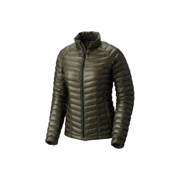 Cheap Mountain Hardwear Women Green Fade Ghost Whisperer™ Down Jacket Online