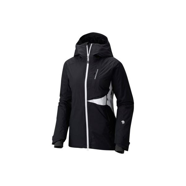 Women Mountain Hardwear Polara™ Insulated Jacket Black, White Outlet Online